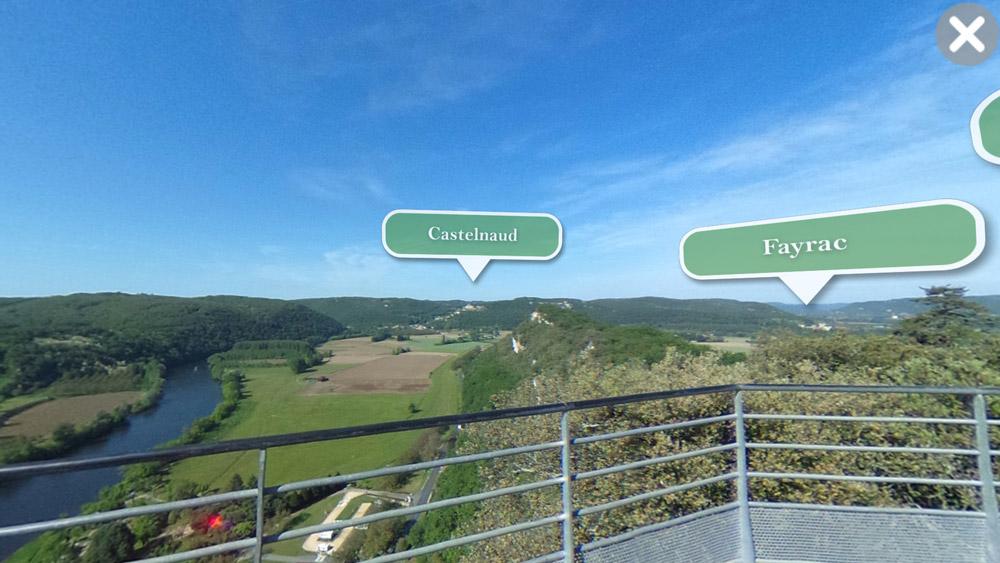 Les jardins suspendus de Marqueyssac - Realite Augmentee