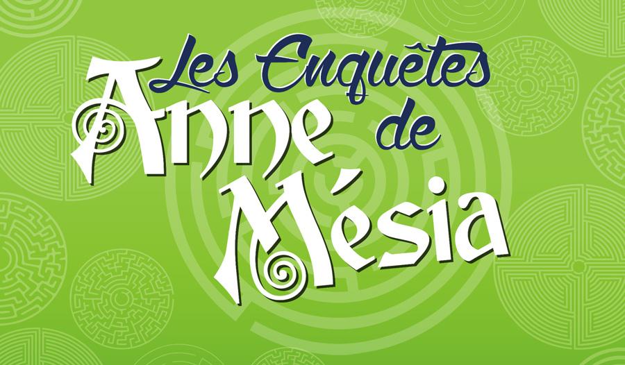 Furet Company - Logo Les Enquetes Anne de Mesia