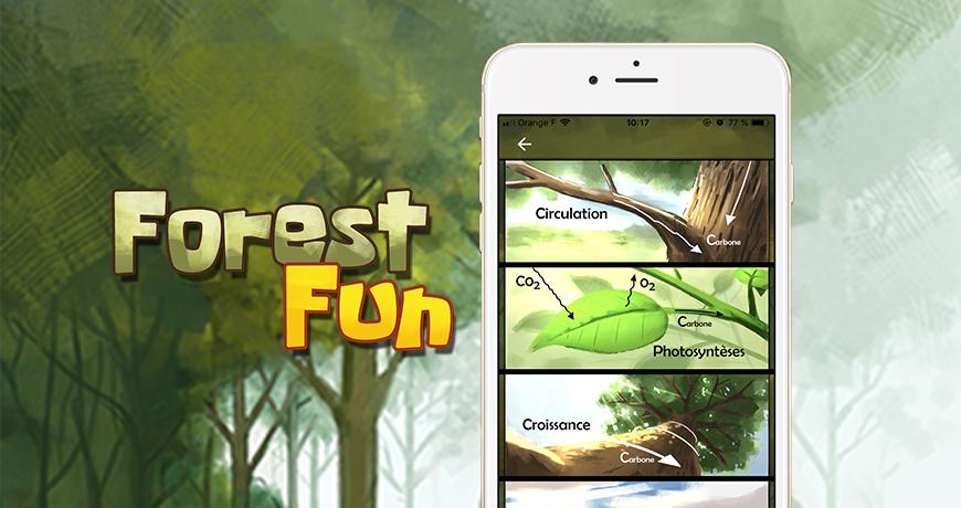 Actualité Furet Company - Forest fun