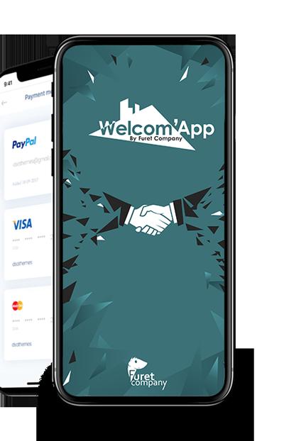 furet company - communique de presse welcom app