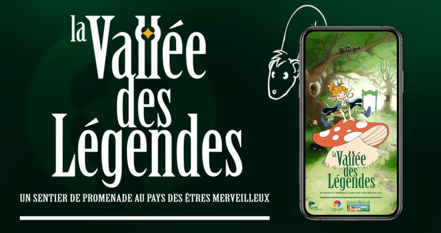 La vallée des légendes: une application merveilleuse!