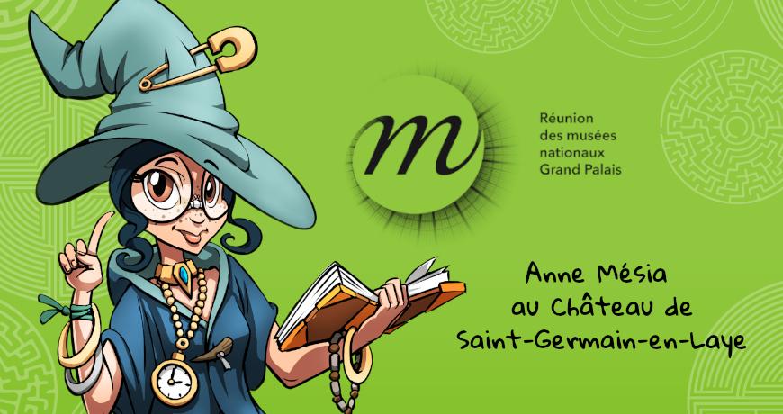 furet company - anne mesia enquete au chateau de saint-germain-en-laye musee archeologique