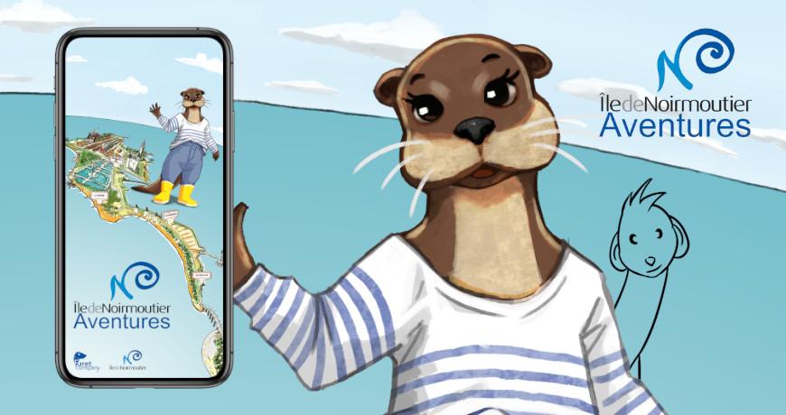 Furet Company | appli visite ile de noirmoutier aventures loutre