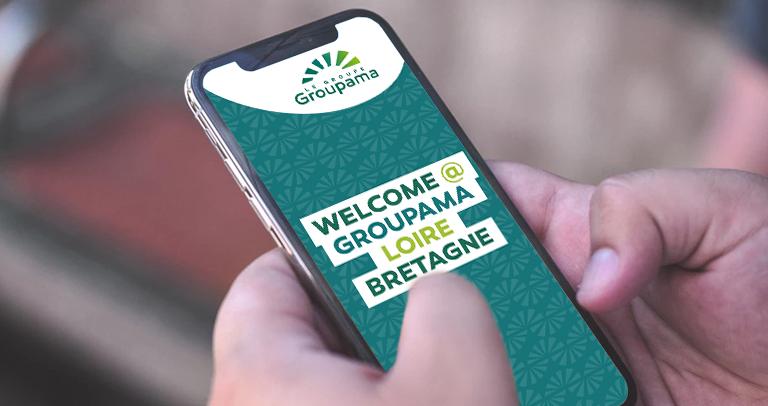 welcom app furet company - onboarding groupama loire bretagne