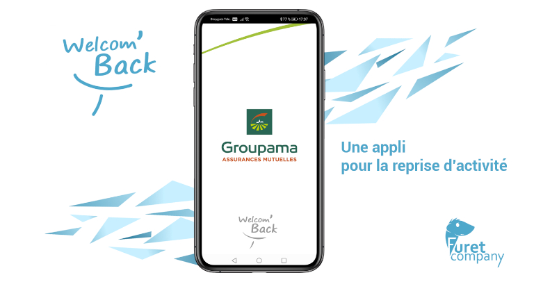 Furet Company | Welcom'back - appli Groupe groupama GMA