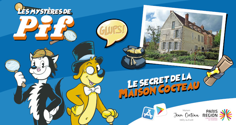 mysteres-pif-maison-cocteau-application-musee-glups-aventure